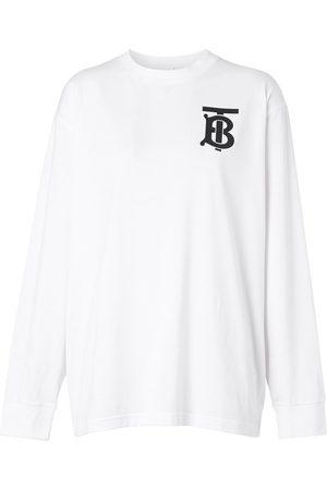 Burberry Long-sleeved Monogram T-shirt