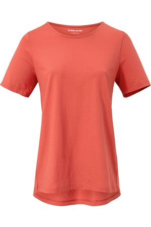 Green Cotton Dames T-shirts - Shirt Van