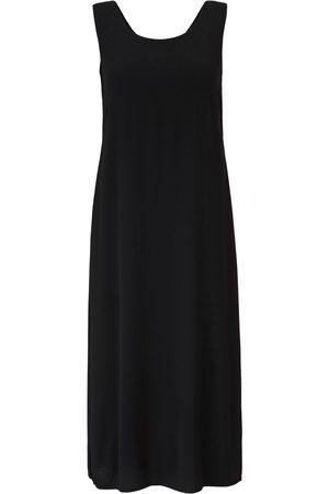 Emilia Lay Dames Mouwloze jurken - Jurk ronde hals Van