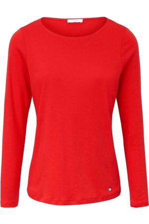 Efixelle Dames Lange mouw - Shirt van 100% katoen lange mouwen