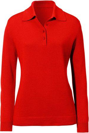 Peter Hahn Dames Poloshirts - Polotrui zijde + kasjmier model Pia
