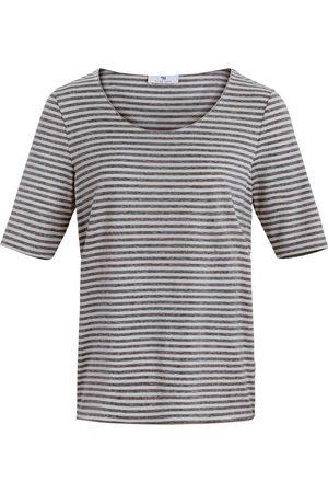 Peter Hahn Gestreept shirt met korte mouwen Van multicolour