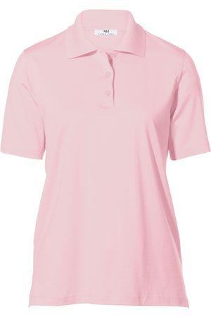Peter Hahn Poloshirt korte mouwen lichtroze