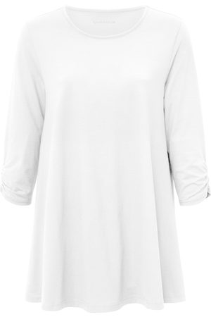 Green Cotton Lang shirt 100% katoen 3/4-mouwen Van