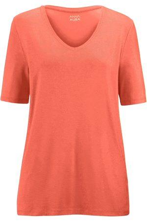 Anna Aura Shirt V-hals en korte mouwen
