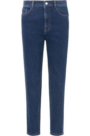 DAY.LIKE Enkellange jeans in toelopend model denim