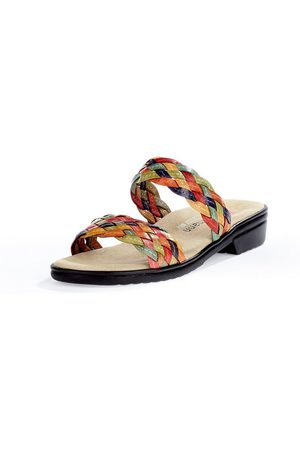 Berkemann Dames Slippers - Slippers Triest rundnappaleren bandjes Van multicolour