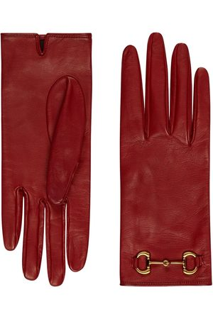 Gucci Horsebit detail gloves