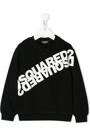 Dsquared2 Mirrored logo cotton sweatshirt