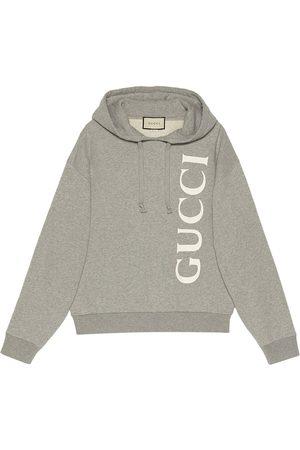 Gucci Felpa con cappuccio e stampa