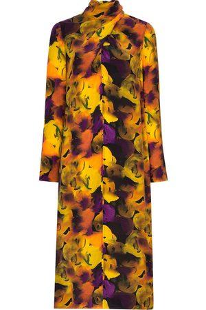 Ganni Floral pattern midi dress