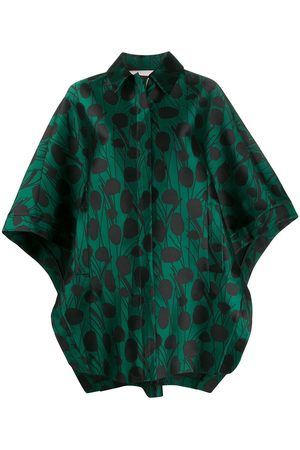 La DoubleJ Super Woman Moses Verde satin cape