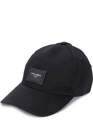 Dolce & Gabbana Logo patch baseball cap