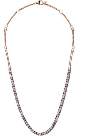 ALINKA 18kt rose RIVIERA diamond necklace