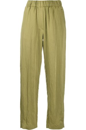 FORTE FORTE Elasticated waist loose fit trousers