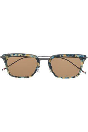 Thom Browne Zonnebrillen - Tortoiseshell effect sunglasses