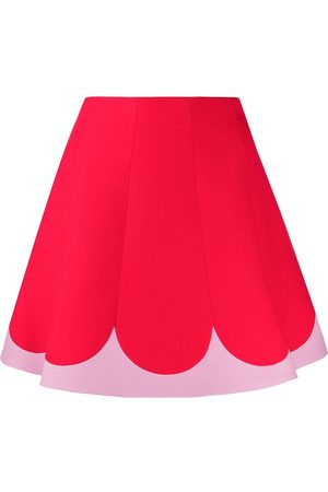 VALENTINO Two tone A-line skirt