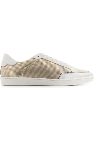 Saint Laurent Textured low-top sneakers