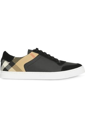 Burberry House check low-top sneakers