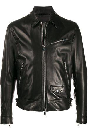 VALENTINO VLTN cropped biker jacket