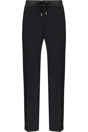 Dolce & Gabbana Piped side tailored track pants