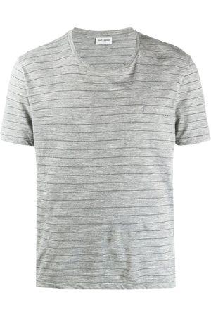 Saint Laurent Striped shortsleeved T-shirt
