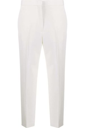 Jil Sander High-rise cropped tailored trousers