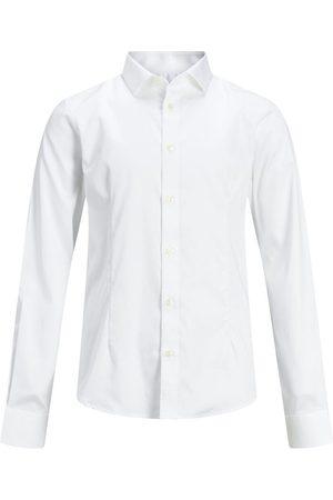Jack & Jones Heren Lange mouwen - Jongens Afgeronde Zoom Overhemd Heren