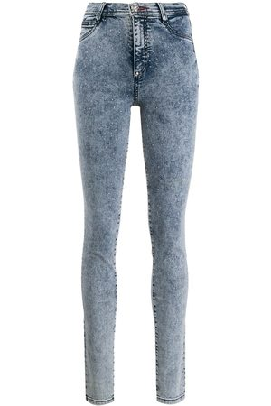 Philipp Plein High waisted denim jeggings
