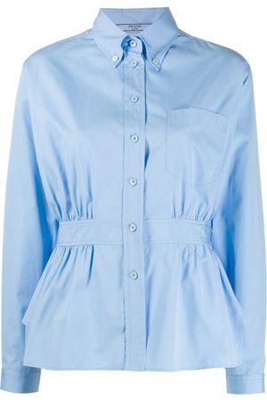 Prada Peplum waist shirt