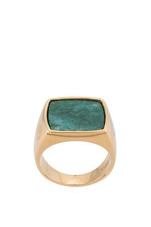 Nialaya Jewelry Squared signet ring