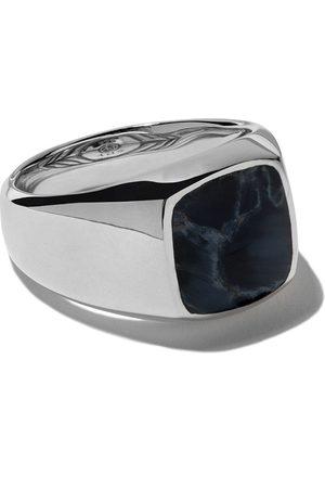 David Yurman Exotic Stone pietersite signet ring