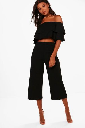 Boohoo Double Bandeau Top and Culotte Co-ord
