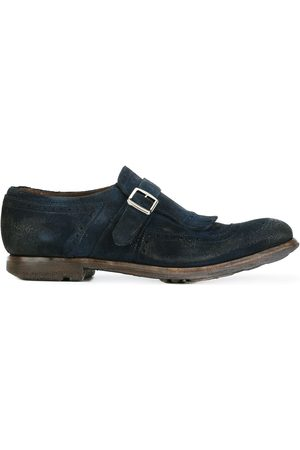 Church's Distressed brogue detail monk shoes