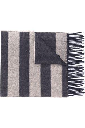 Salvatore Ferragamo Heren Sjaals - Block stripe scarf