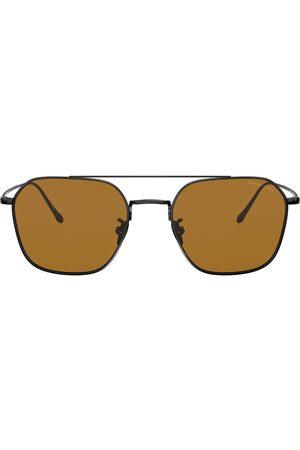 Armani Aviator framed sunglasses