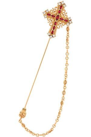Dolce & Gabbana Cross pendant brooch