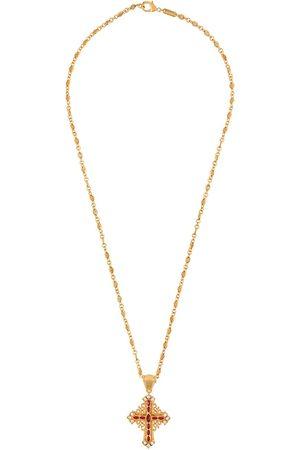 Dolce & Gabbana Embellished crucifix necklace