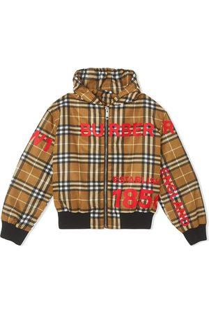 Burberry Signature check lightweight rain jacket