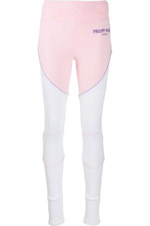 Philipp Plein Geometric jogging leggings