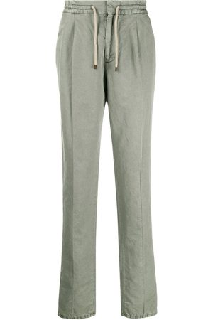 Brunello Cucinelli Drawstring straight leg trousers