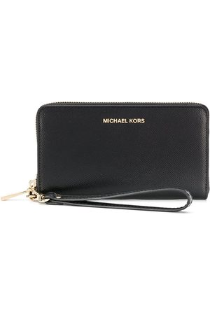 Michael Kors Large grained-effect wallet