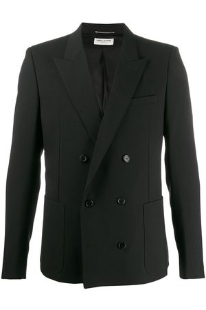 Saint Laurent Fitted double-breasted blazer