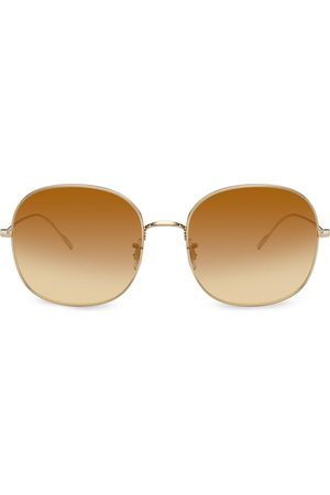 Oliver Peoples Gradient round sunglasses