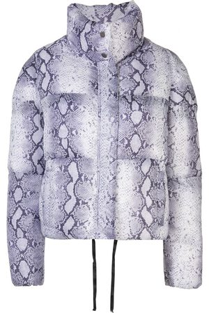 Apparis Snake print puffer jacket