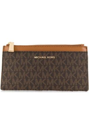 Michael Kors All-over logo wallet