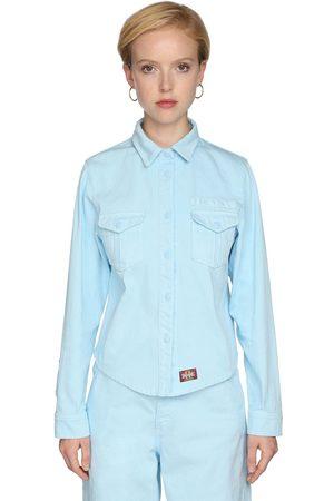 Marc Jacobs Cotton Denim Work Shirt