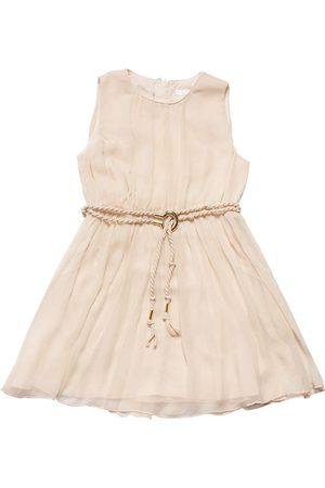 Chloé Sleeveless Silk Crepe Dress
