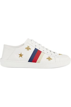 Gucci Dames Sneakers - Ace sneaker with bees and stars