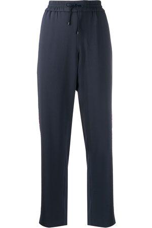 Kenzo Straight-leg cropped track pants